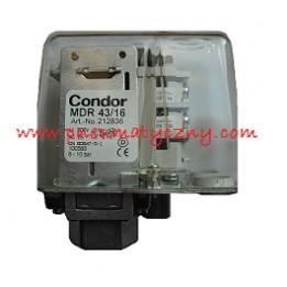 Presostat do kompresorów śrubowych Condor MDR 43