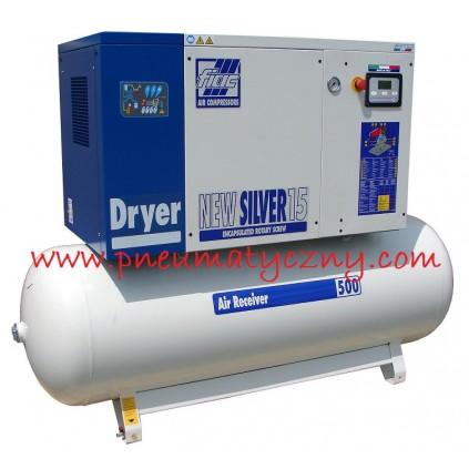 Kompresor śrubowy FIAC New Silver D10/500 (z osuszaczem)