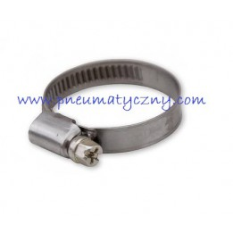 Opaska zaciskowa 12-12 mm do węży prostych zbrojonych