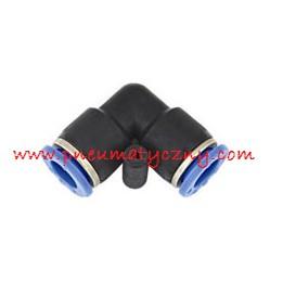 Złączka pneumatyczna wtykowa kolanko 6x6