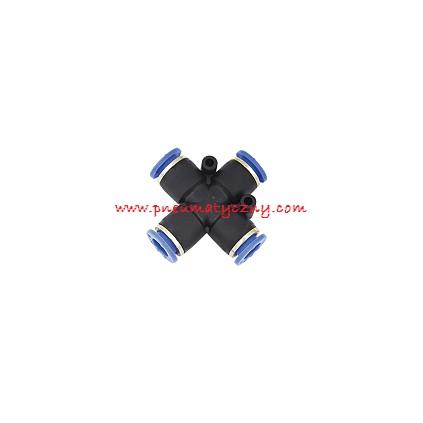 Złączka wtykowa czwórnik 6x6x6x6