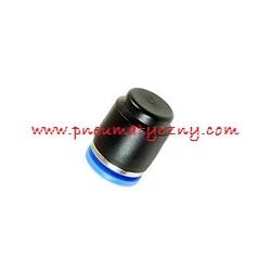 Złączka wtykowa zaślepka na przewód o średnicy 6 mm