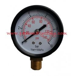 """Manometr radialny 40 mm x 1/8"""" 0-10 bar"""