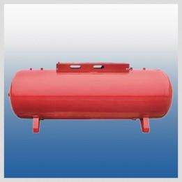 Zbiornik poziomy 272 litry z płytą montażową