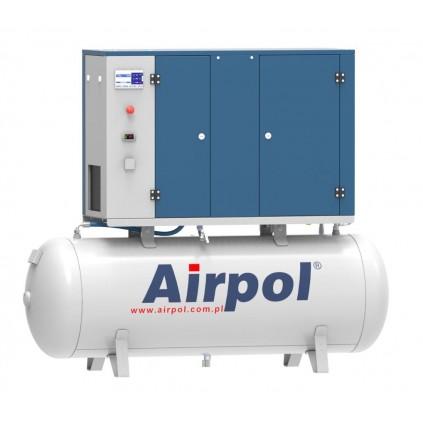 Kompresor śrubowy z osuszaczem ziębniczym AIRPOL KT4