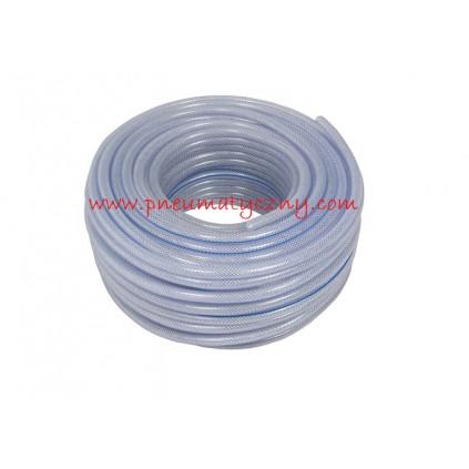 Wąż techniczny zbrojony PCV 12,5 x 3 mm