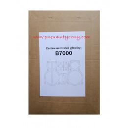 Zestaw uszczelek głowicy sprężarki B7000