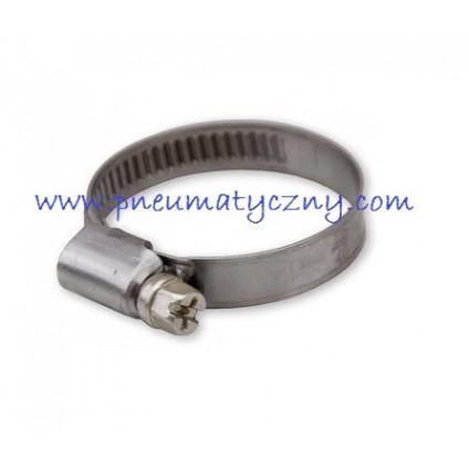 Opaska zaciskowa 25-40 mm do węży prostych zbrojonych