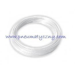 Przewód PA 12 poliamidowy 4x2 biały