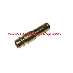 Wtyczka z tuleją na przewód prosty fi 6 mm