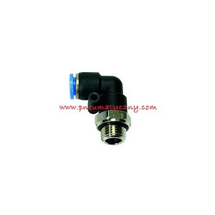 Złączka pneumatyczna wtykowa kolanko 4xM5 GZ