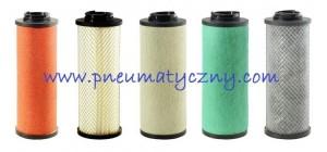 Wkłady filtrów sprężonego powietrza